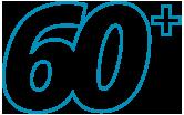 blue 60+